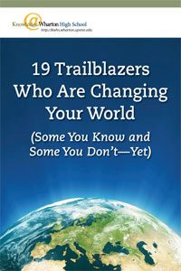 19 Trailblazers Who Are Changing Your World