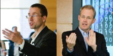 Wharton Profs. Christian Terwiesch (left) and Karl Ulrich
